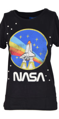 T-shirt Nasa con perle