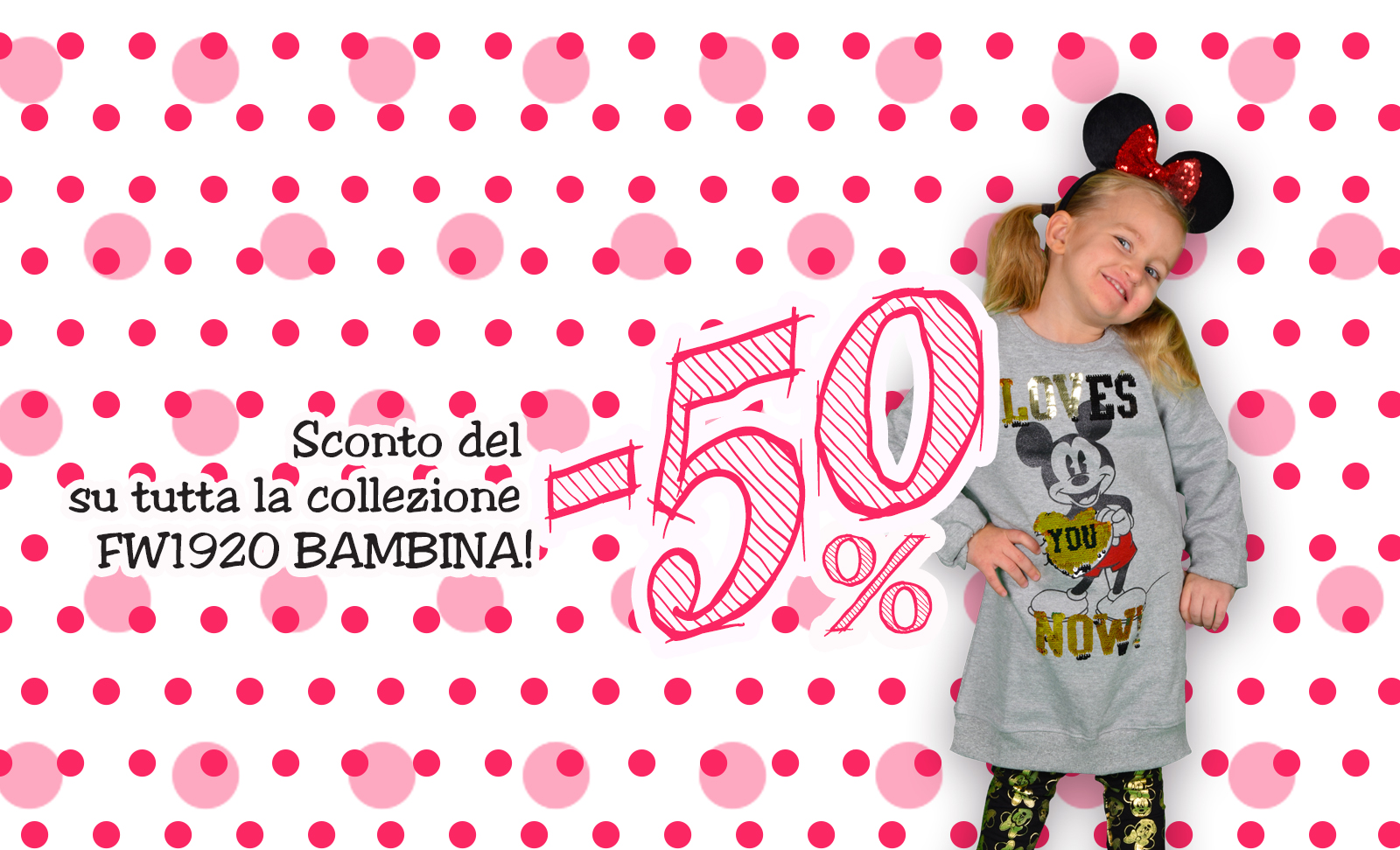 SCONTO 50 KIDS_ITS GOLD TIME_BANNER SITO